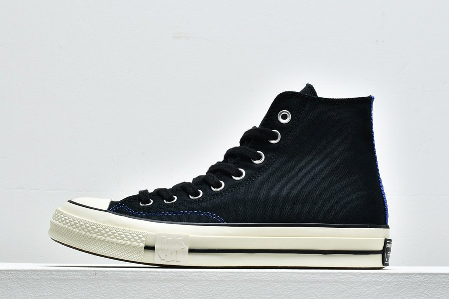 Buy Online Undefeated Fundamentals x Converse Chuck 70 High In Black