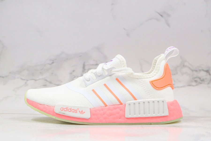 Buy adidas NMD R1 White Signal Pink FY9388 Womens Size Online