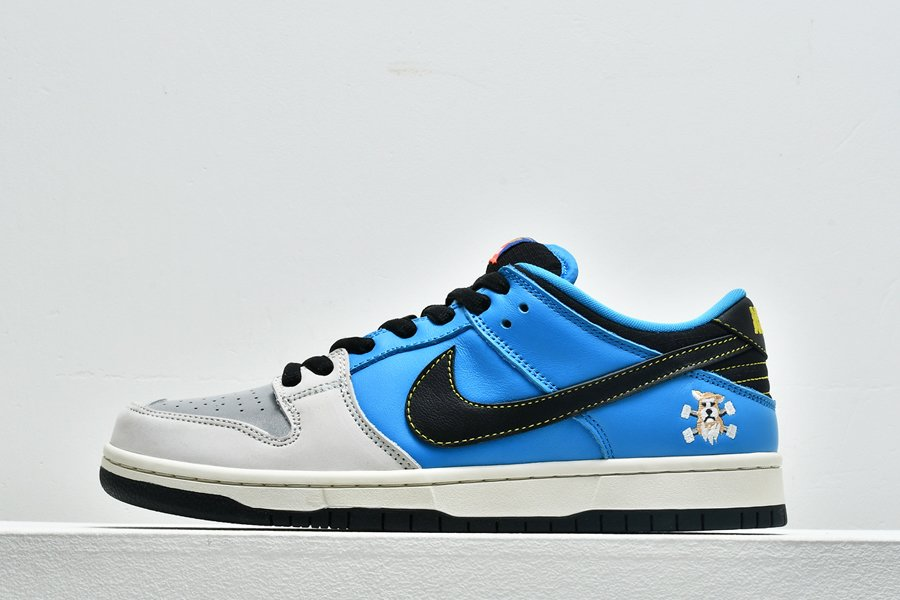 Instant Skateboards x Nike SB Dunk Low Blue Sail For Sale