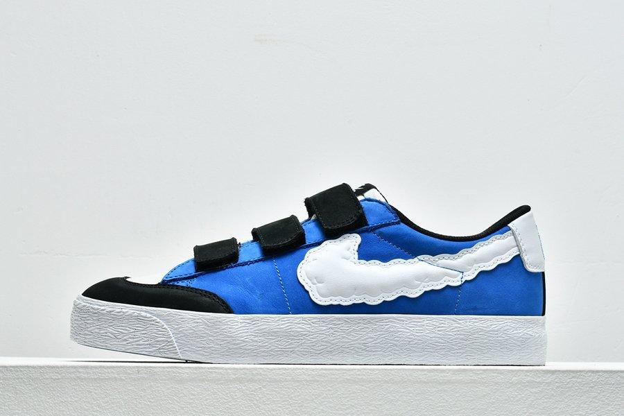 Kevin Bradley x Nike SB Blazer Low Heaven White Blue Online Sale