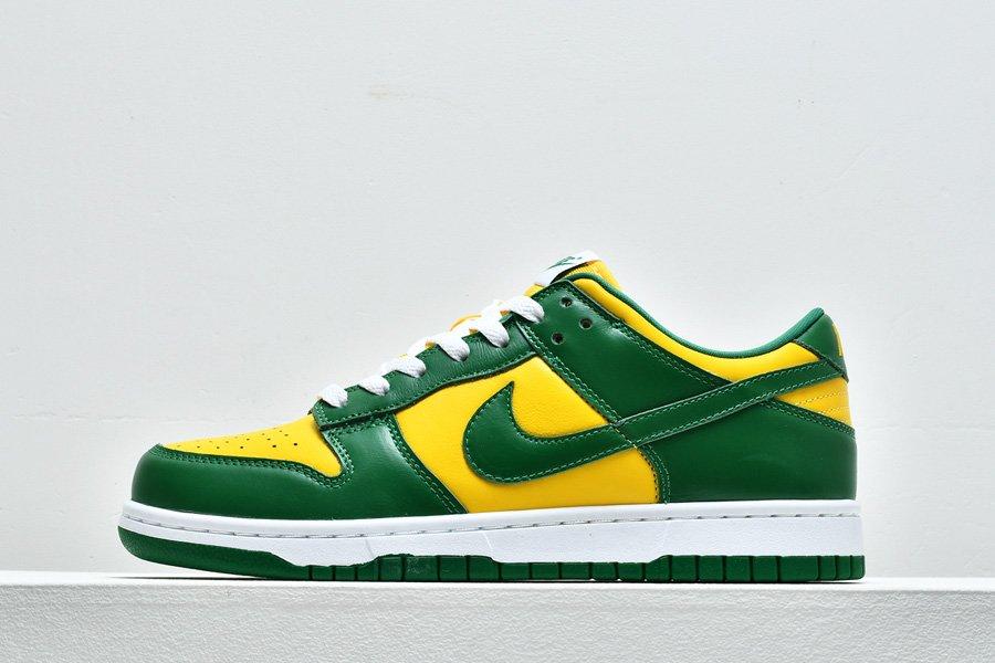 Nike Dunk Low SP Brazil Yellow Green CU1727-700 To Buy
