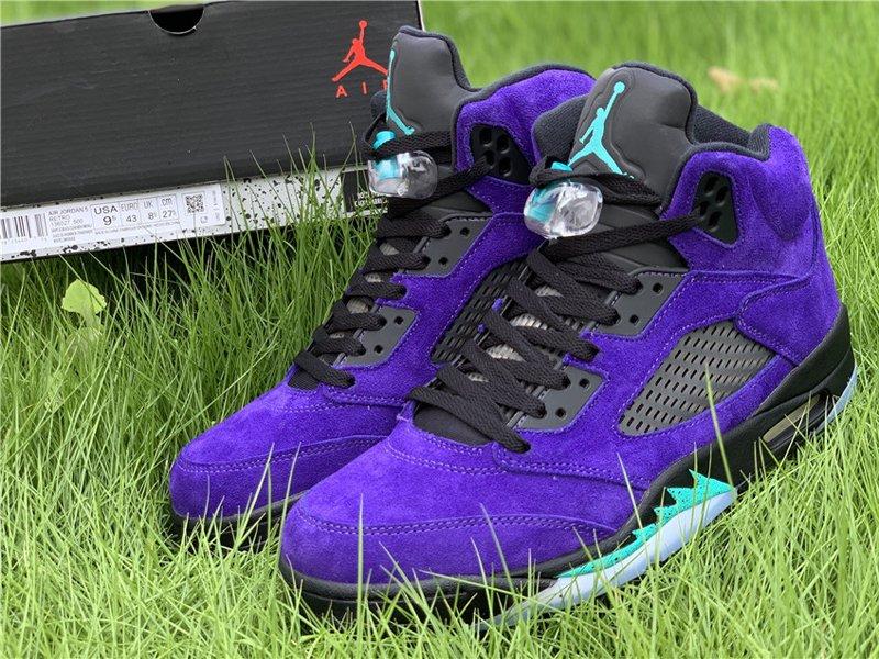 Purple Air Jordan 5 Alternate Grape 136027-500 To Buy