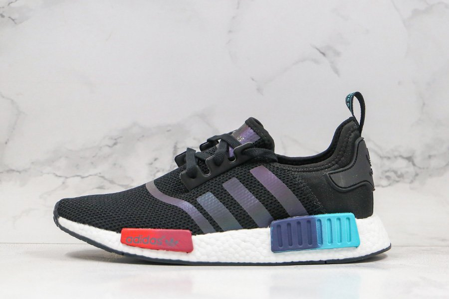 adidas NMD R1 Gradient Core Black-Boost Black FW4365 For Sale