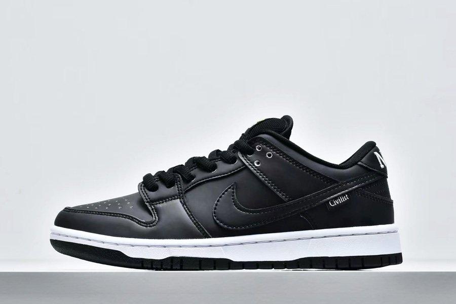 Brand New Civilist x Nike SB Dunk Low Black Multi-Color CZ5123-001 Sale
