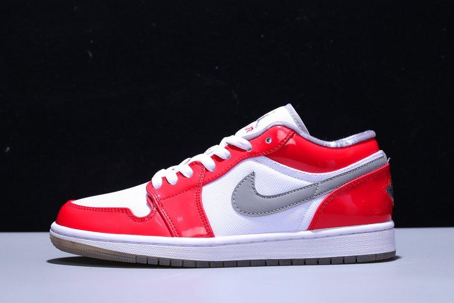 Buy Air Jordan 1 Retro Low South Side True White Varsity Red-Stealth