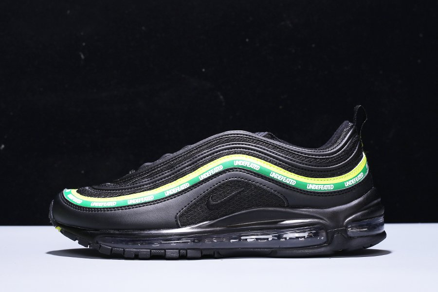 Buy Online Undefeated x Nike Air Max 97 Black Volt