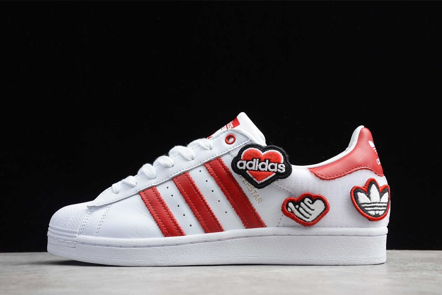 adidas Superstar Comes With Velcro Patches
