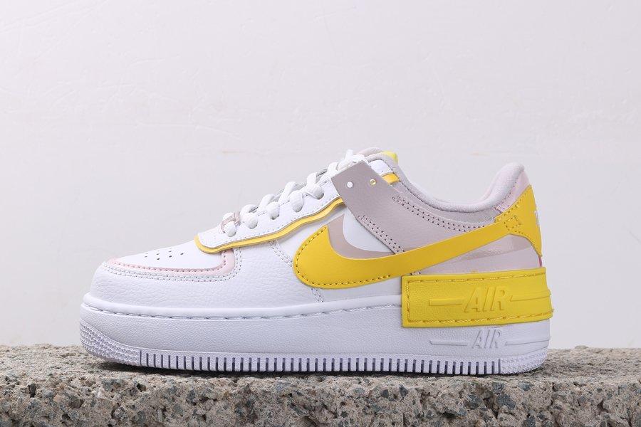 Air Force 1 Shadow Sunshine White Yellow