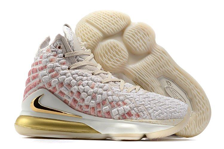 Cheap Nike LeBron 17 Harlem Fashion Row Sand Gold For Sale
