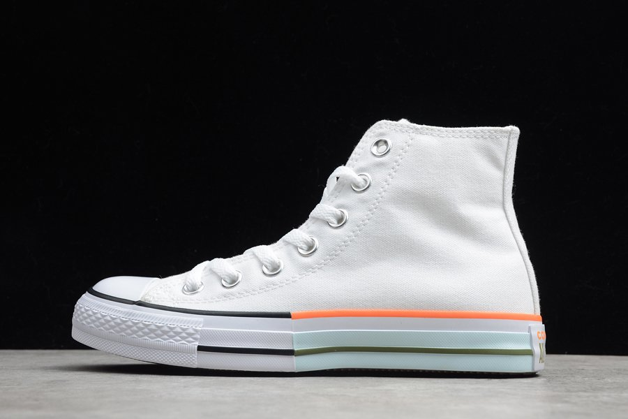 Converse Chuck Taylor All Star White Street Sage Agate Blue For Sale