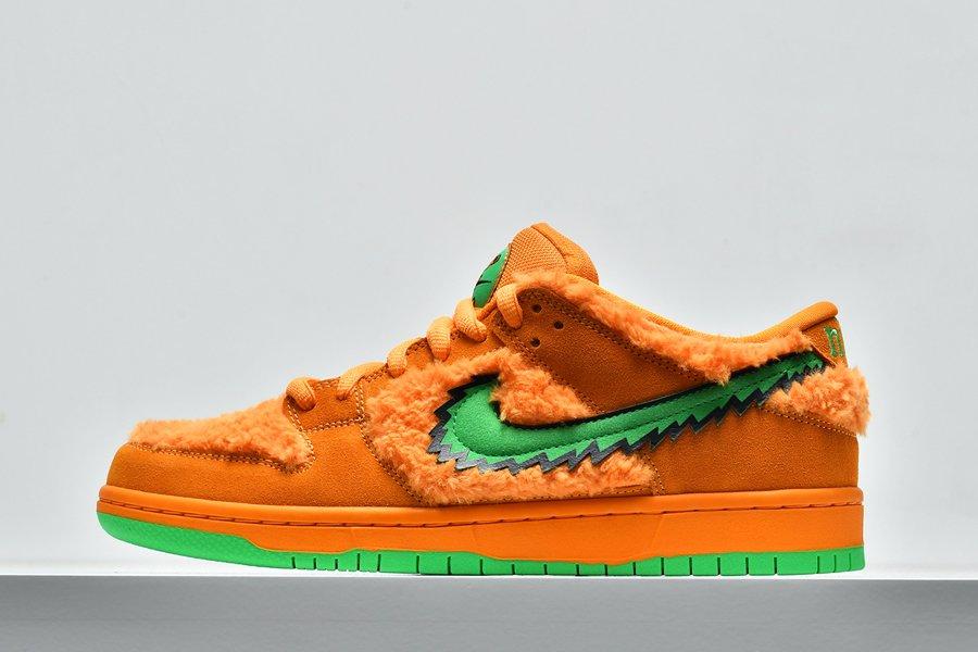 Grateful Dead Bears x Nike SB Dunk Low Orange CJ5378-800 Online