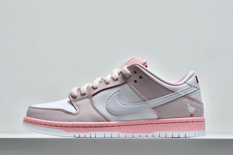 Jeff Staple x Nike SB Dunk Low Pink Pigeon Sale