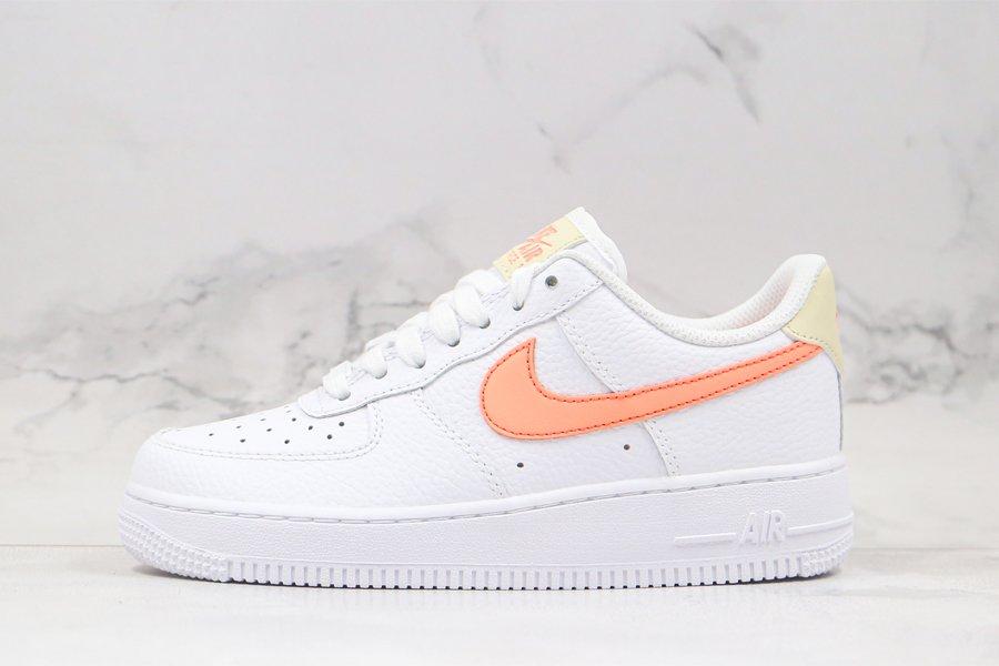 Ladies Nike Air Force 1 07 White Atomic Pink