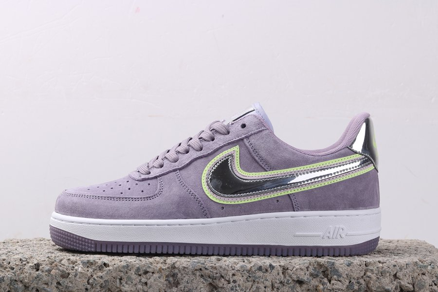Nike Air Force 1 Low P HER SPECTIVE Buttery Violet Suede For Sale