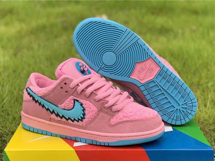 Nike SB Dunk Low x Grateful Dead Pink Bear Hot Sale