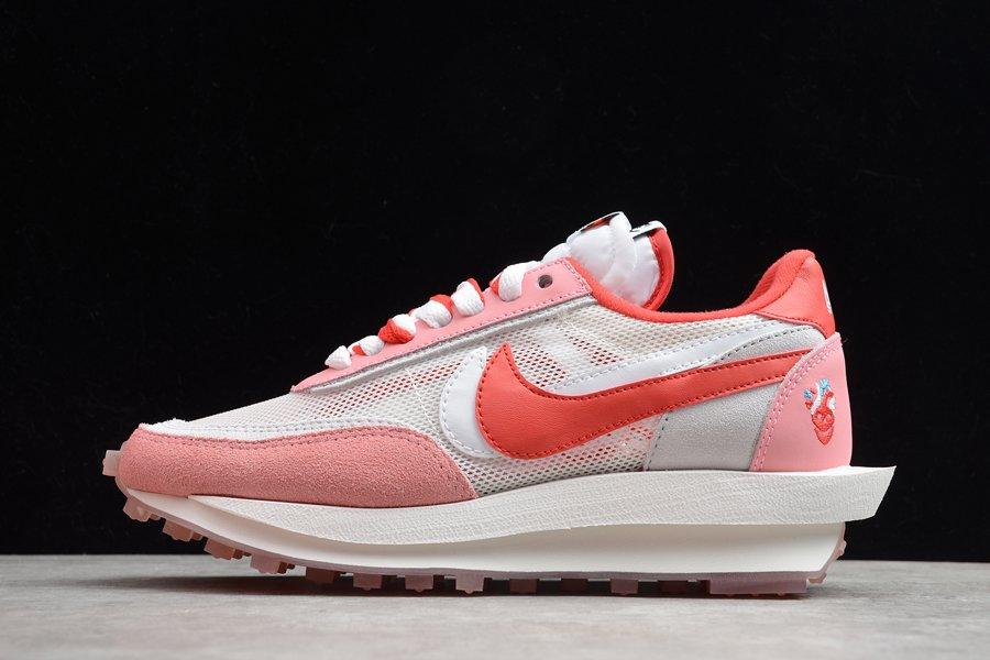 Sacai x Nike LDV Waffle Cherry Pink White To Buy
