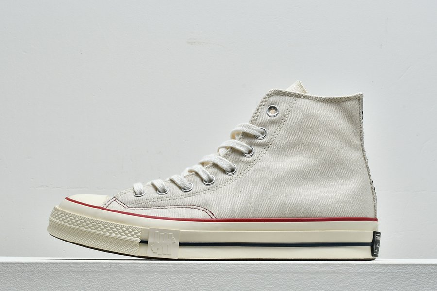 Undefeated x Converse Chuck Taylor 70 High Parchment For Sale