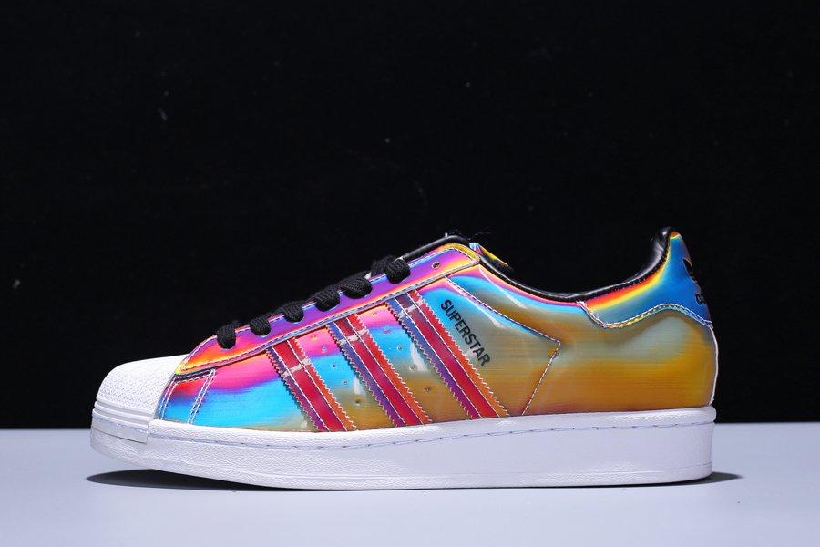 adidas Superstar Rainbow Iridescent Multicolor FX7779 For Sale