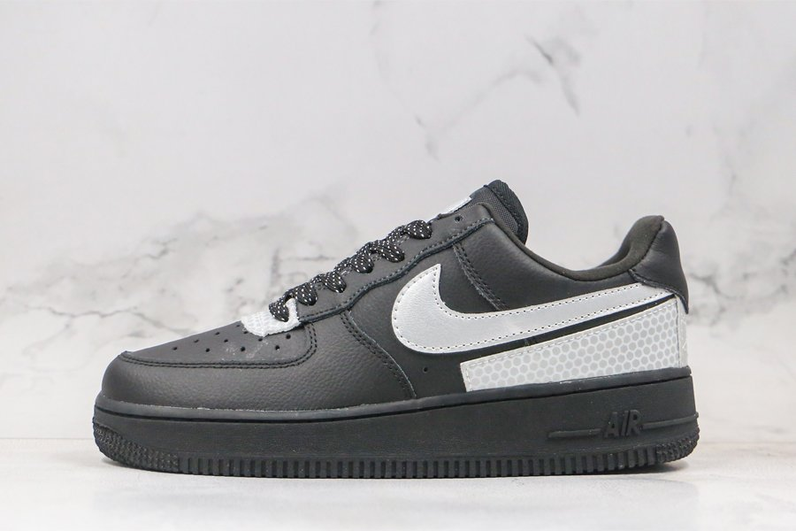 3M x Nike Air Force 1 Low Black Silver CT2299-001