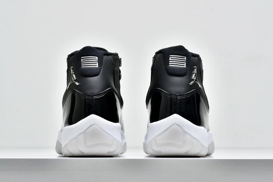 Air Jordan 11 Retro Jubilee 25th Anniversary Heel