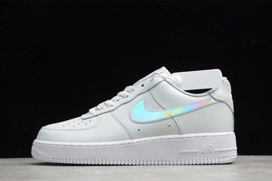 Nike Air Force 1 Low Iridescent Swoosh Aura