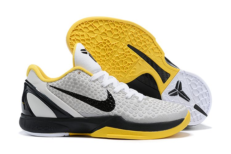 Nike Kobe 6 Protro POP White