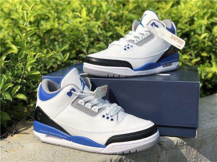 Fragment Design x Air Jordan 3 Royal Blue