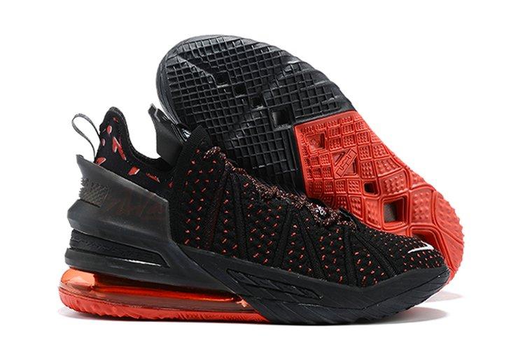 LeBron Jamess 18th Signature Shoe Black Red Online