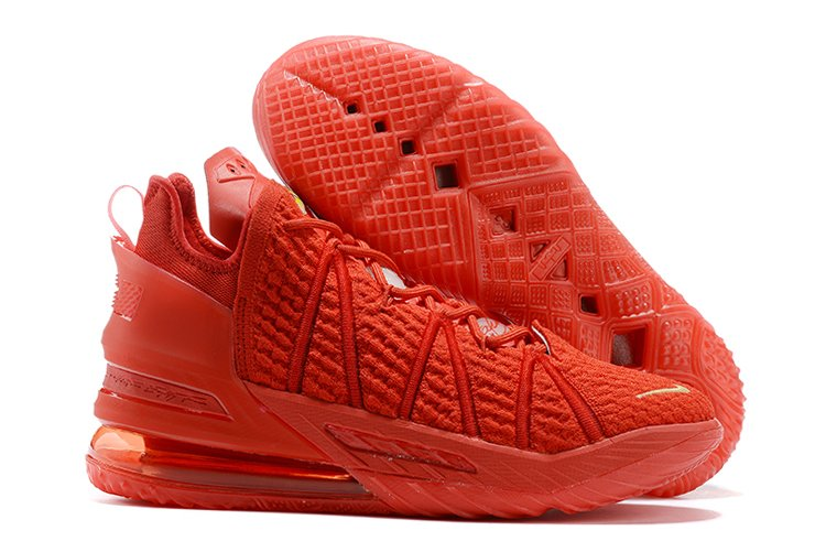 New Nike LeBron 18 University Red In Men and Womens Size