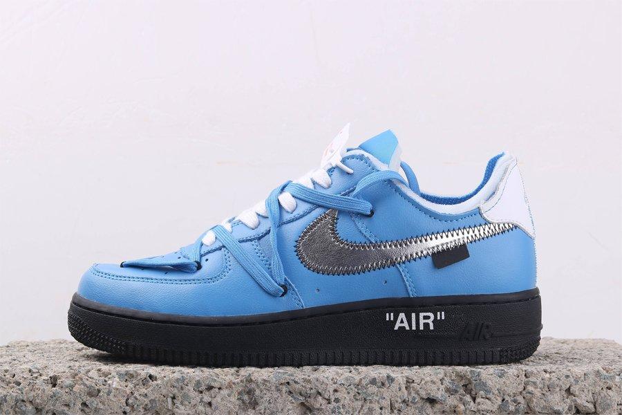 Off-White x Nike Air Force 1 MCA Blue
