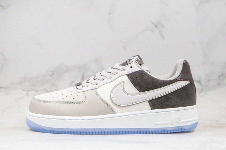Nike Air Force 1 07 Atmosphere Grey Stonewash Blue For Sale