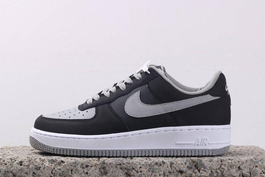 Nike Air Force 1 Low Black White-Shadow Grey