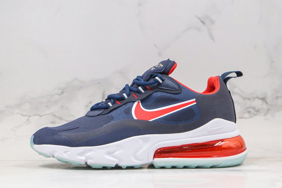 Air Max 270 React Olympic USA Navy Red