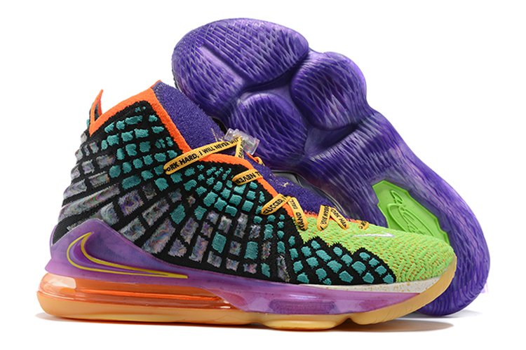 LeBron 17 What The Multi-Color