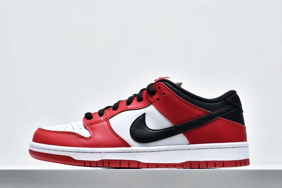 Nike SB Dunk Low Chicago Varsity Red White Black BQ6817-600 On Sale