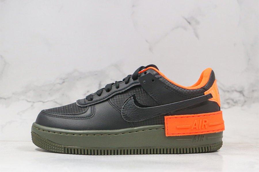 Nike WMNS Air Force 1 Shadow Halloween Black Orange CQ3317-001 Sale