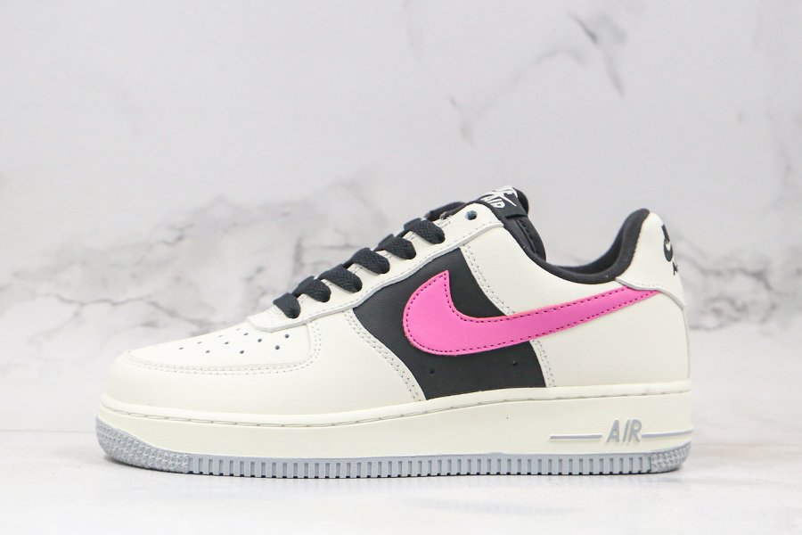 Womens Nike Air Foce 1 Low Sail Black Pink To Buy