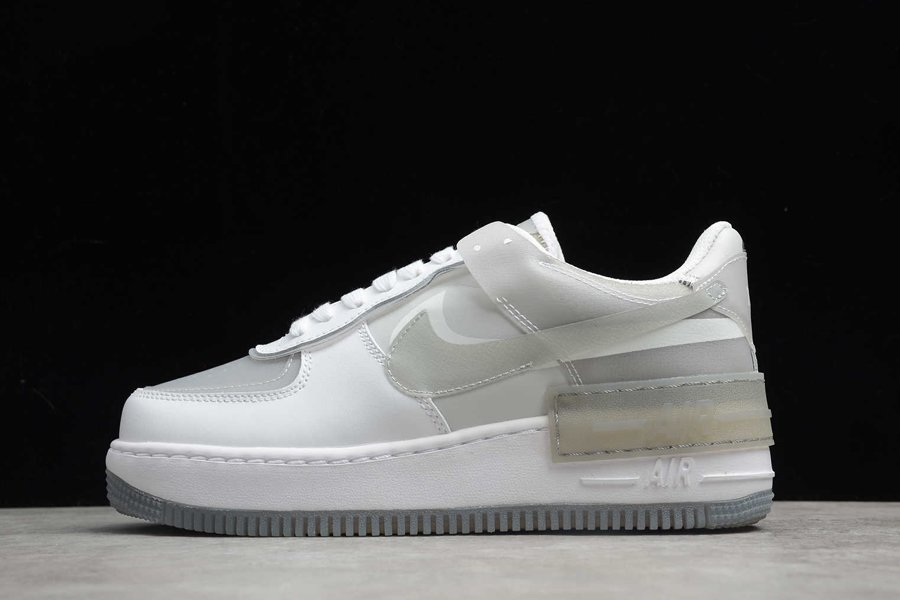 Womens Nike Air Force 1 Shadow Particle Grey For Sale