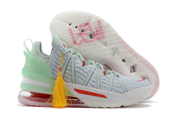 2020 Nike LeBron 18 Empire Jade DB7644-002 For Sale
