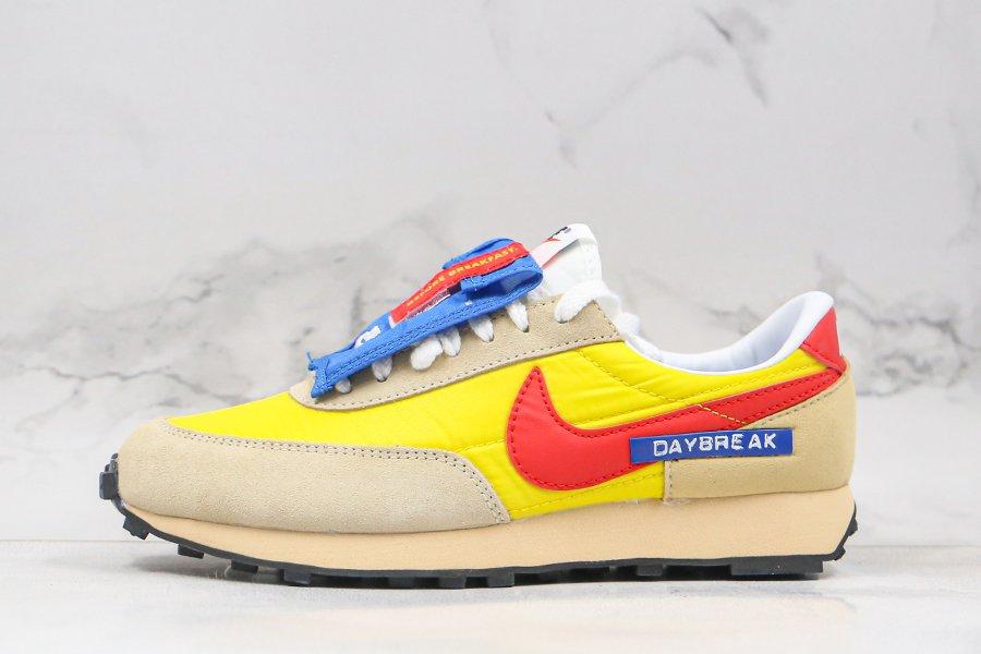 Buy Nike Daybreak SP Speed Yellow Habanero Red-Team Gold