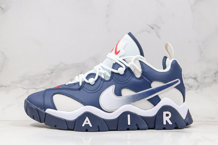 Nike Air Barrage Low USA Midnight Navy White CN0060-400 To Buy