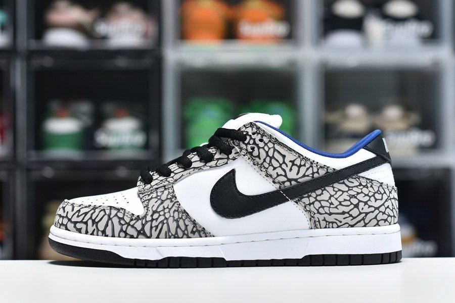 Supreme x Nike Dunk Low Premium SB White Cement