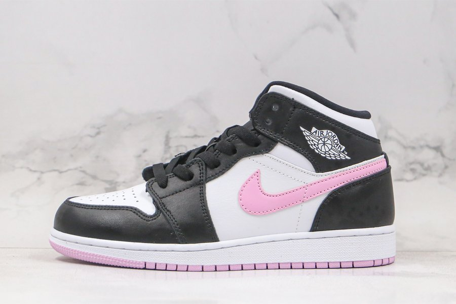Air Jordan 1 Mid GS Arctic Pink