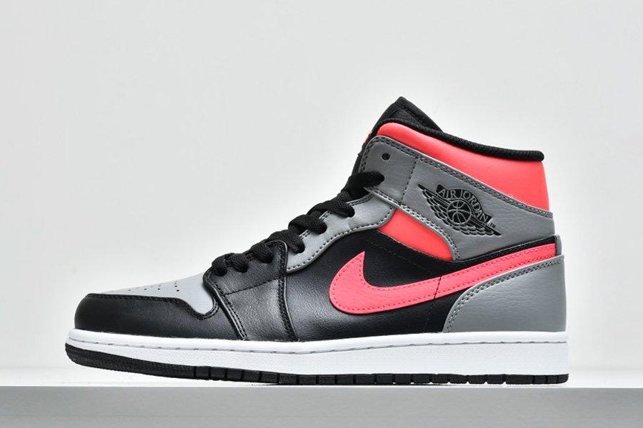 Air Jordan 1 Mid Pink Shadow 554724-059 For Sale