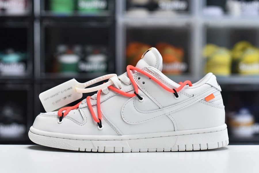 Brand New Off-White x Nike Dunk Low White To Buy