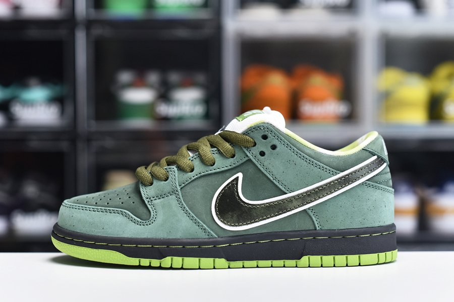 Limited Edition Nike SB Dunk Low Pro OG QS Special Concepts Green Lobster