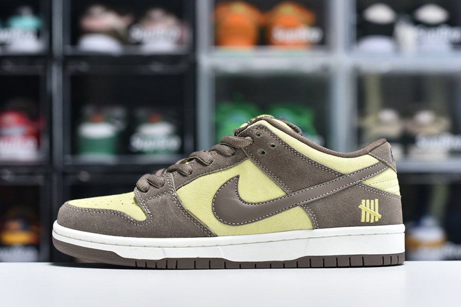 New Nike SB Dunk Low Pro Brown Yellow For Sale