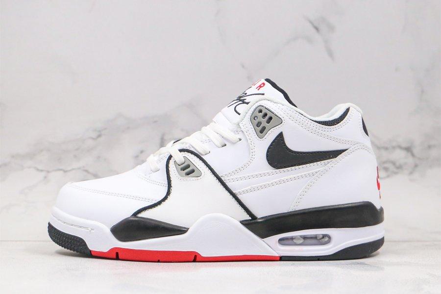 Nike Air Flight 89 White Black Grey Red To Buy