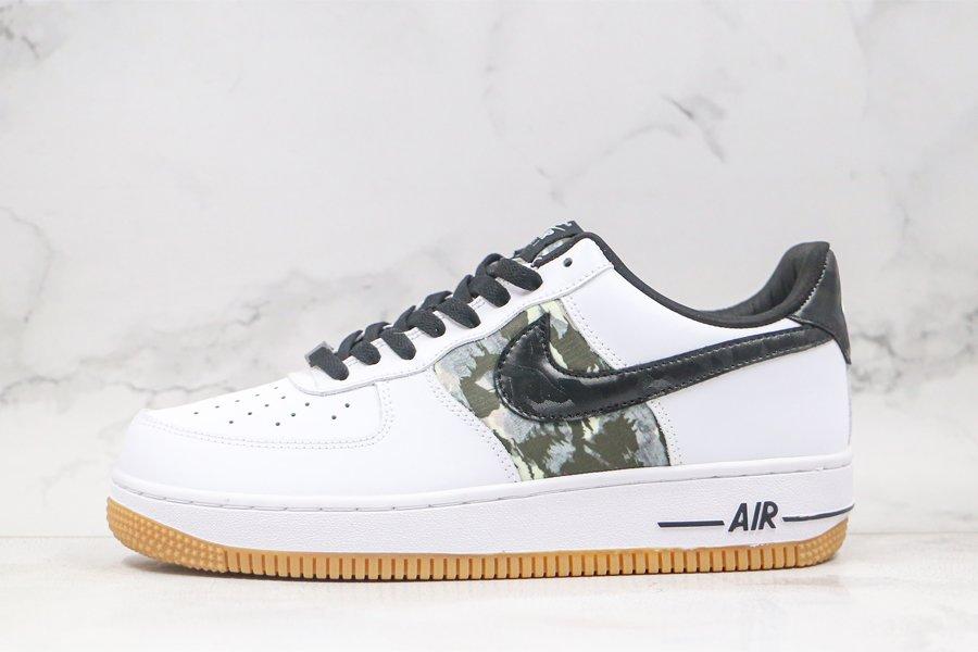 Nike Air Force 1 Low Camo White Gum Light Brown-Sequoia-Black