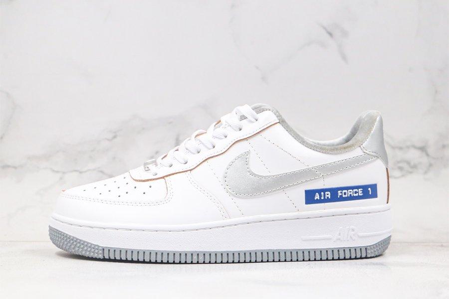 Nike Air Force 1 Low Label Maker White Sail-Chutney-Metallic Silver